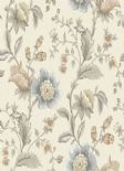 Into The Woods Zinnia Cream Grey  Wallpaper 98550 By Holden